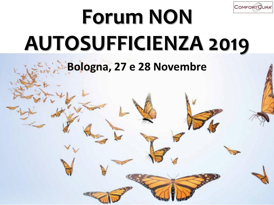 Forum NON AUTOSUFFICIENZA 2019 – Comfortcura